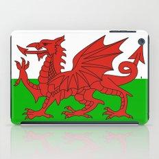 wales country flag united kingdom  iPad Case