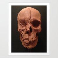 Ecorche Art Print
