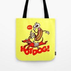 Hot Dog! Tote Bag