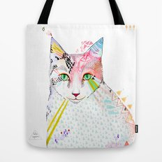 Cat / March Tote Bag