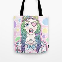 Love Is The Drug Tote Bag