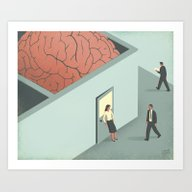 Brain Room Art Print