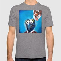 Gonzo And Camilla Muppet… Mens Fitted Tee Tri-Grey SMALL