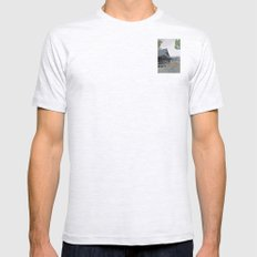 Temple at Dusk Mens Fitted Tee Ash Grey SMALL