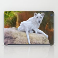 Rare White Lion  iPad Case