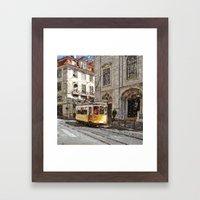 Old tramways III Framed Art Print