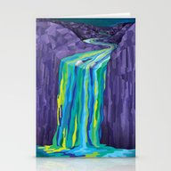 The Great Waterfall Stationery Cards