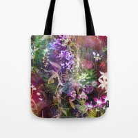 Orchids Waterfall Tote Bag