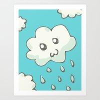 Rain Cloud Art Print