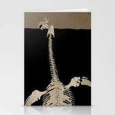 Digging for Fossils  Stationery Cards