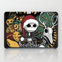 Jack's Christmas Plan iPad Case