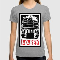 I-O-BEY '74 Womens Fitted Tee Tri-Grey SMALL