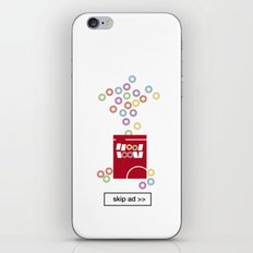 cereal ad iPhone & iPod Skin