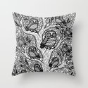 The Hypnowl Council Throw Pillow