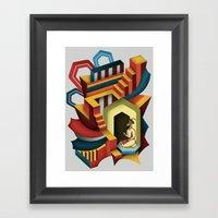 Maharaja Framed Art Print