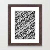 36° (monochrome series) Framed Art Print
