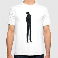 Grown Up Mens Fitted Tee White SMALL