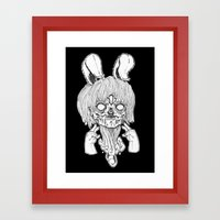 Gang sign. Framed Art Print