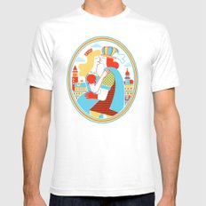 Venice for Lovers Mens Fitted Tee White SMALL