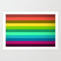 Colors LAB  Art Print