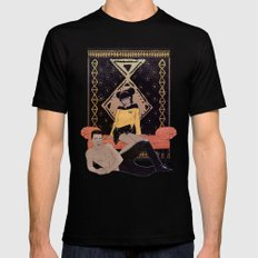 Sexy La Forge Mens Fitted Tee Black SMALL