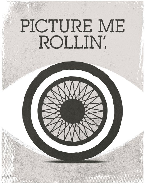picture me rollin' Art Print