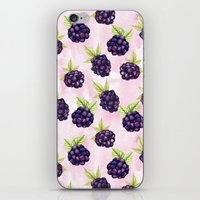 Blackberries iPhone & iPod Skin