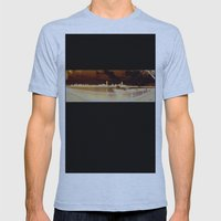 Boston Mens Fitted Tee Athletic Blue SMALL