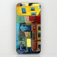 Barcelona Rooftops iPhone & iPod Skin