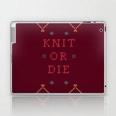 Knit or Die Laptop & iPad Skin