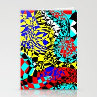 Color Bomb  Stationery Cards