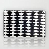 B & W Laptop & iPad Skin
