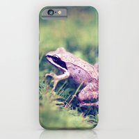 iPhone & iPod Case featuring Frog & Moss by Shannon Marie