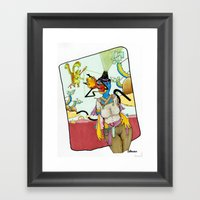 Walkabout At Polygon Win… Framed Art Print