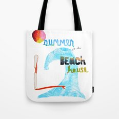 Summer at the Beach House Tote Bag