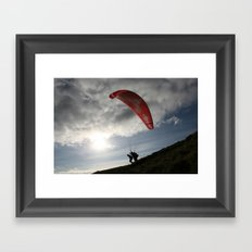 up up and away Framed Art Print