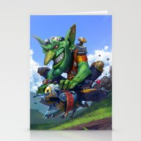 Goblin Rider Stationery Cards