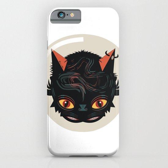 Devil cat iPhone & iPod Case