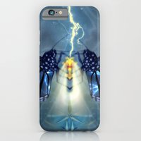 iPhone & iPod Case featuring Nature, the ultimate power source by Donuts