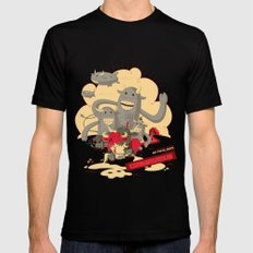 Cowmunism Mens Fitted Tee SMALL Black