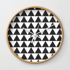 Maybe this is triangles  Wall Clock