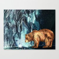 BearCave Canvas Print