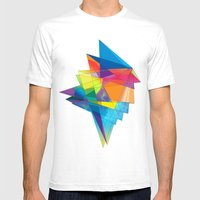 06 - 02 Mens Fitted Tee White SMALL