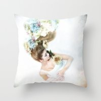 A Diadem Of Dreams Throw Pillow