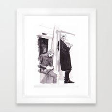 Men of Mystery Framed Art Print