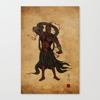 Darth A-un Canvas Print