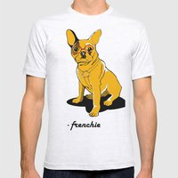 Frenchie Mens Fitted Tee Ash Grey SMALL