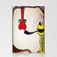 Get Your Mind In The Gut… Stationery Cards