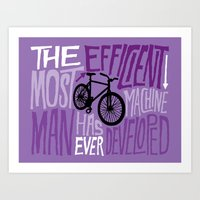 The Most Efficient Machi… Art Print
