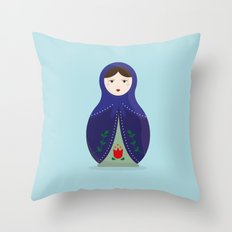 MATRYOSHKAS SERIES - OLESYA Throw Pillow